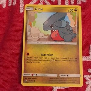 pokemon card ( Gible) for sale